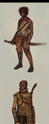 Character Design: Swordsmen by DanilLovesFood