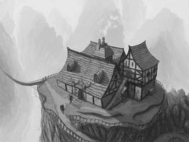 Commission: Mountain Inn by DanilLovesFood