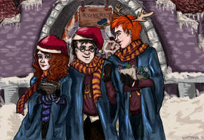 Merry Christmas, Potter! by misttyblue