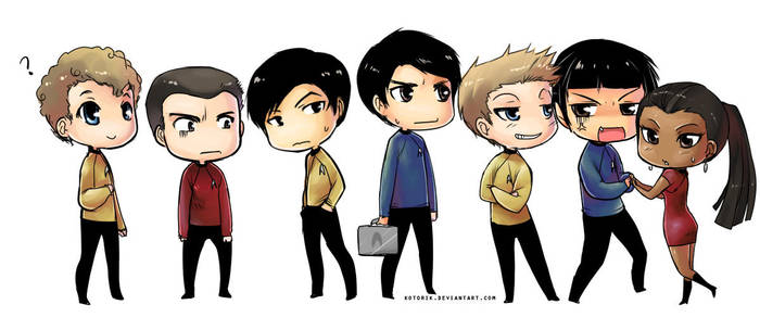 Chibi Trek by KotoriK