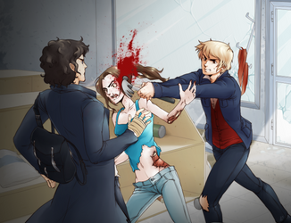 Sherlock Commission 3 for GG by KotoriK