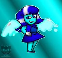 Steven Universe- Lapis Lazuli As Aquamarine by The-Smileyy