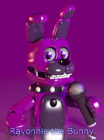 [C4d] Ravonnie the bunny | Fan Character by The-Smileyy