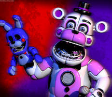 C4d | Funtime Freddy | Poster by The-Smileyy