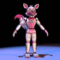 Literal Funtime Foxy v1 by The-Smileyy