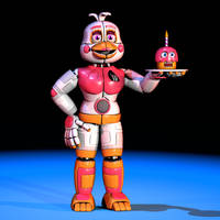 Funtime Chica - Extras Render by The-Smileyy