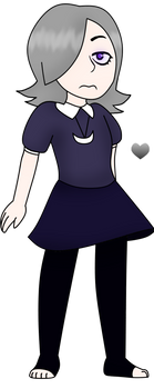 Glitchtale OC - Luna or Ombrelune by The-Smileyy