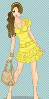 Disney Fashionistas: Belle by keb17