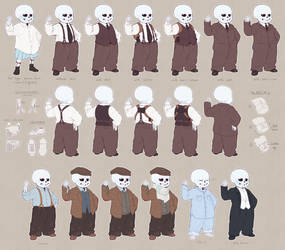 a skeleton wearing suits has destroyed my life by frostious