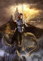 Knight by raffa3le