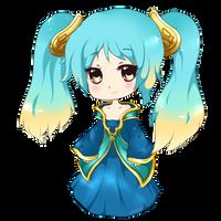 Sona - League of Legends by Cherrycake4