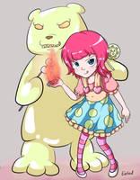 League of Legends - Bonbon Annie (Skin Idea) by Cherrycake4