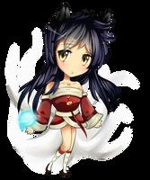 League of Legends - Ahri by Cherrycake4