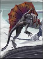 Ice Raptor by Davesrightmind