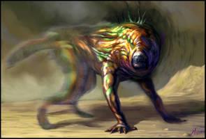 Eyeless Iridescent Jumper by Davesrightmind