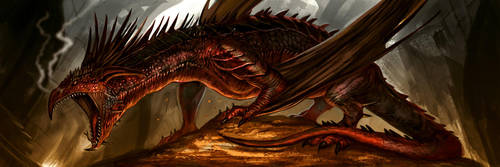 Smaug Final by Davesrightmind