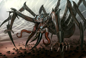Spider-demont by Davesrightmind