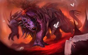 Hellish-War-Beast-Final-large by Davesrightmind