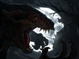 Wolfman-2 by Davesrightmind