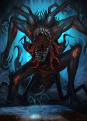 Ouija-Beast by Davesrightmind