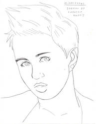 Miley Cyrus by PhantomWolfBlood77