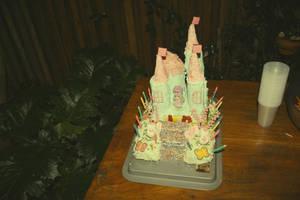 castle cake. by Belleeee