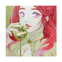 Golden Apple by KiwiChameleon