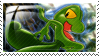 Treecko Stamp by ice-fire