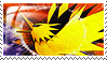 Zapdos Stamp by ice-fire