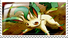 Leafeon Stamp by ice-fire