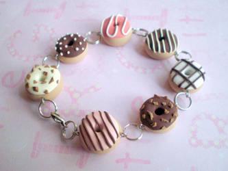 donut bracelet by jenyah