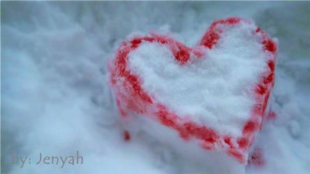 cranberry+snow+heart_2 by jenyah