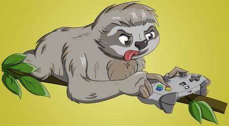 Bash the Sloth by Flatty93