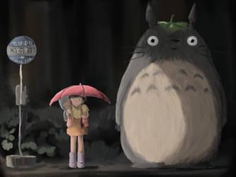 Totoro by TashiRD