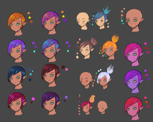 Hair Colour by justineski