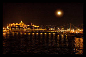 Budapest at night by citrina