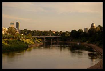 Zhverynas bridge by citrina