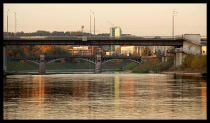 Bridges of Zhverynas district by citrina