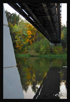 Vingis park bridge by citrina