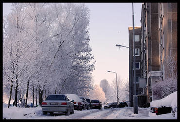 Winter in my home town I by citrina