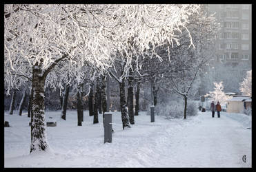 Winter in my home town II by citrina