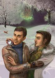 Winter celebrations by citrina