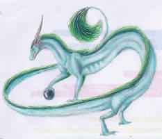 Blue Dreagon by lugia513