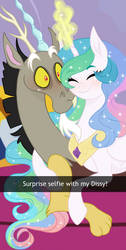 30 day challenge: A selfie together by Sunbutt-Worshipper