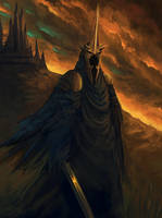 Witch King of Angmar by rirth