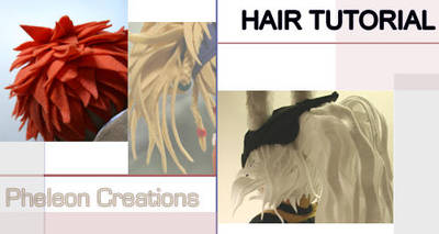 How to make plushie hair by pheleon