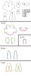 Mini-plush Pattern by pheleon