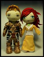 DragonAge couple by pheleon