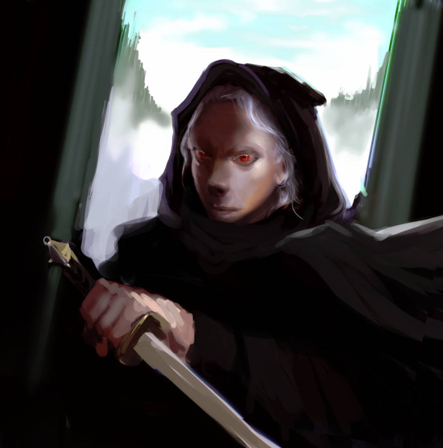 Shadow of Morgul ~ Morgai the autistic by Yzah