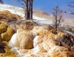 Orange Mammoth Springs by MissNysha